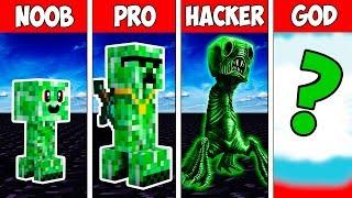 Minecraft NOOB vs PRO vs HACKER vs GOD : CREEPER MUTANT EVOLUTION in Minecraft   Animation