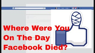 Facebook Down  For the Count! Did You Wake To This?