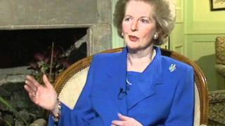 Margaret Thatcher interview on her last days as Prime Minister
