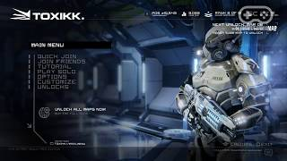 Геймплей онлайн игры Toxikk (Full HD, Ultra Graphics)