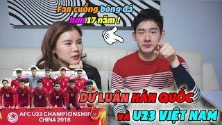Dư luận Hàn Quốc và U23 Việt Nam