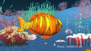 Machli jal ki rani hai  - Fish 3D Animation Hindi Nursery rhymes for children ( Hindi Poem )