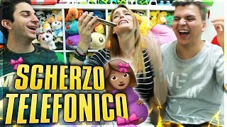 """MAMMA SONO INCINTA"" - SCHERZO TELEFONICO EPICO - SABRINA & ANIMA"
