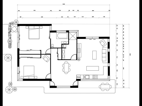 일러스트로 도면치는 방법 How To Make Floor Plan And Elevation Plan