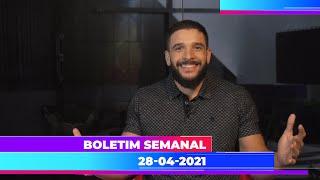 Boletim Semanal 28/04/2021