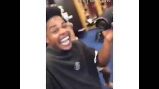 Odell Beckham Jr. Celebrates HUGE Contract In Locker Room With Giants Teammates