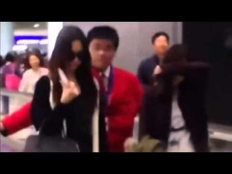 소녀시대 제시카 홍콩 공항에서 기절 태연 우는 장면