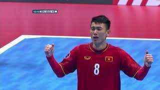 Chinese Taipei 1-3 Vietnam (AFC Futsal Championship 2018: Group Stage)