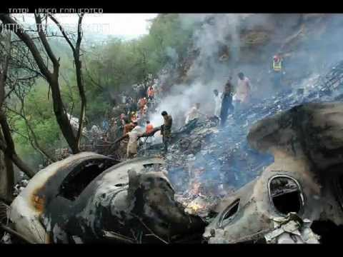 In memory Of Air Blue Crash in Islamabad on margall hills at 27-08-2010