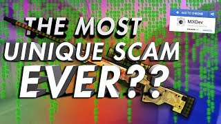 Trolling the Most Complicated CS:GO Scammer...