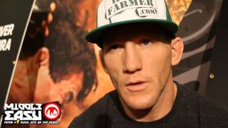 Gray Maynard talks about eating