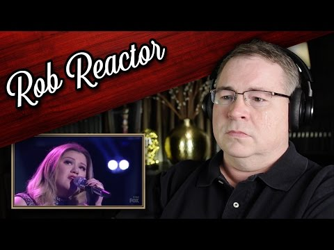 Kelly Clarkson Reaction | Piece By Piece (American Idol)
