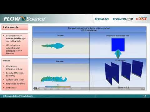 Webinar: Environmental Modeling with FLOW-3D