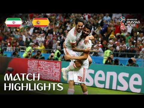 Iran v Spain 0-1