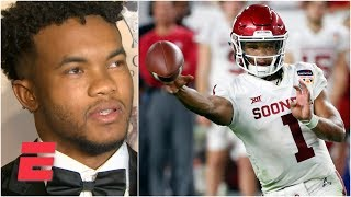 Kyler Murray on his NFL vs. MLB decision: 'End of the day, I'm a football player'   2019 NFL Draft