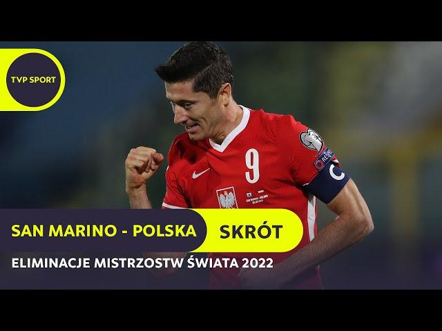 San Marino 1-7 Polska [VIDEO SKRÓT MECZU]