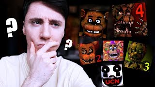 RANKING THE FNAF GAMES...