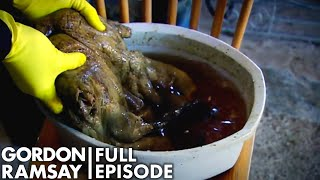 Gordon Ramsay Tries The Scottish Delicacy, Gannet    The F Word FULL EPISODE
