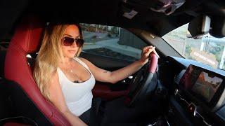 GIRLFRIEND DRIVES MY BIG TURBO 2020 SUPRA!!