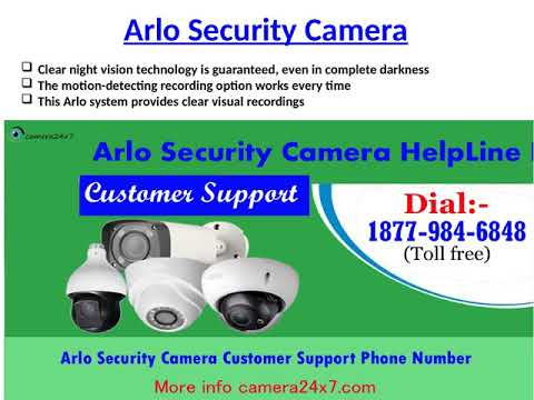 Deal With All Camera Issues At Arlo Pro Camera Support Number 1-877-984-6848.