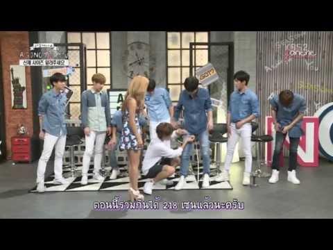 [Thai Sub] 150809 A Song For You - INFINITE วัดต้นขา + แข่งร้องเพลง CUT