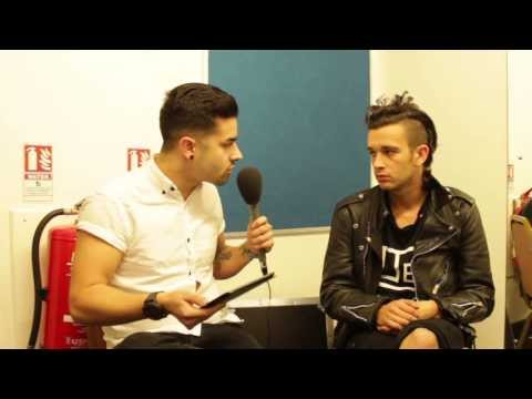 Zain presents...The 1975 (Matty Healy). Interview. Birmingham 02 Academy - 12/2/14