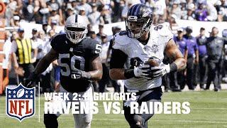 Ravens vs. Raiders   Week 2 Highlights   NFL