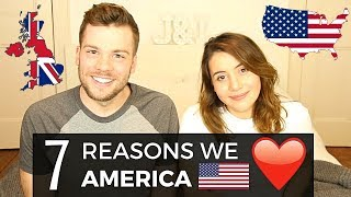 7 Things Brits LOVE About the USA! 🇺🇸❤️   American vs British
