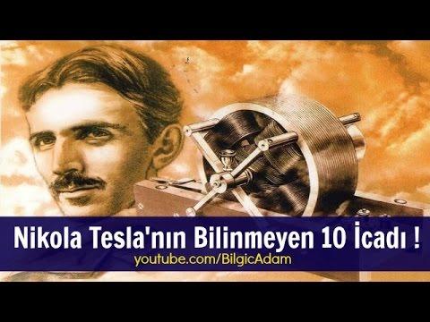 Nikola Tesla'nın Bilinmeyen 10 İcadı !