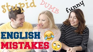 STUPID English mistakes | Native English Speakers Funny Language Mistake Stories