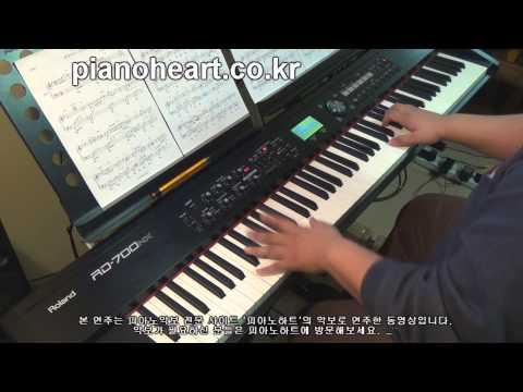 [별그대 ost]효린(Hyorin) - 안녕(Hello, Good bye) 피아노 연주,RD-700NX