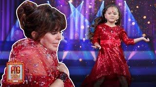 La nieta de Verónica Castro sorprende a su abuela en el escenario de Pequeños Gigantes