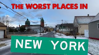 The 10 WORST CITIES in NEW YORK for 2020