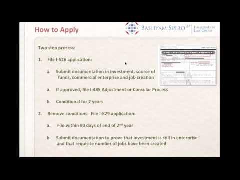 EB-5 Investment Green Card Program