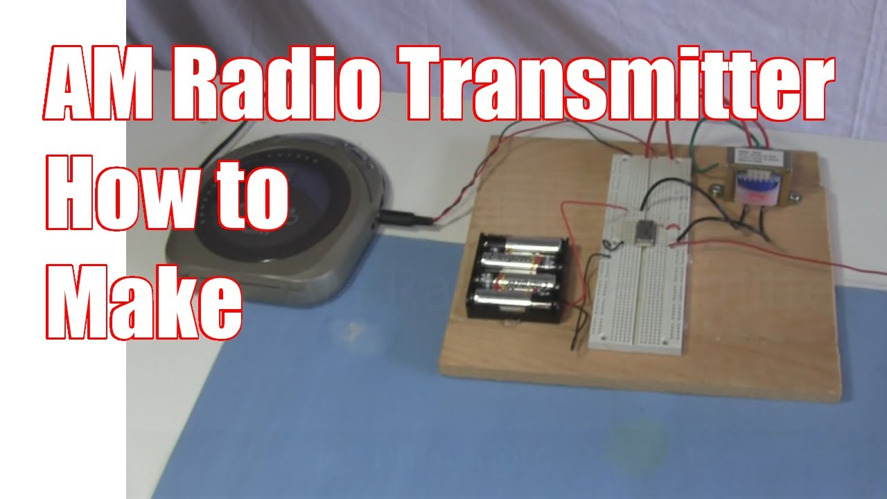 how to make a radio transmitter at home