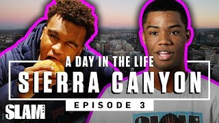 Sierra Canyon was eatin' that GOOD GOOD in Portland 🐓 | SLAM Day in the Life