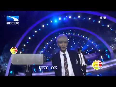 春晚 EXO-M Full Cut Ment 咆哮 狼与美女 140129