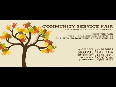 Community Service Fair 2014