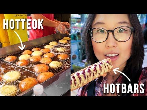 KOREAN STREET FOOD at Namdaemun Market ft. Hotteok