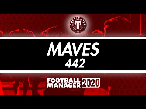 Maves 442 Tactic for Football Manager 2020