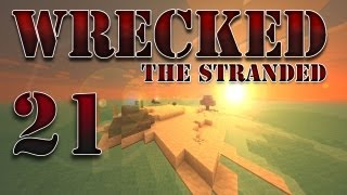 """Minecraft - """"Wrecked - The Stranded"""" Part 21: The Pirate Ship"""