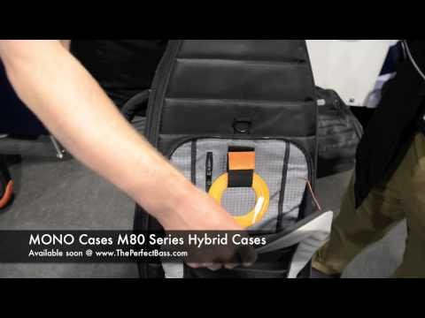 The Perfect Bass Direct from NAMM 2012 - MONO Cases M80 & Guitar Tick