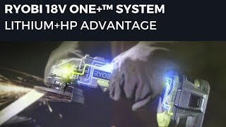 Video: 18V ONE+™ Lithium+™HP 9.0 AH High Capacity Battery