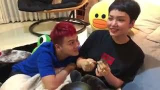 Miu Lê với Duy Khánh cãi nhau vì cái bánh bao
