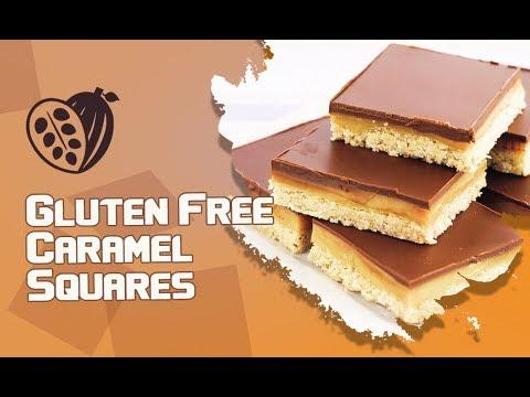 Gluten Free Caramel Squares-Recipe - Chocolak.com