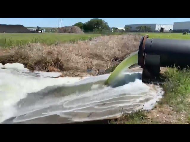 美佛州磷礦廢水外洩 州長宣布緊急狀態撤居民