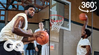 The Joel Embiid 360-Degree Experience   GQ