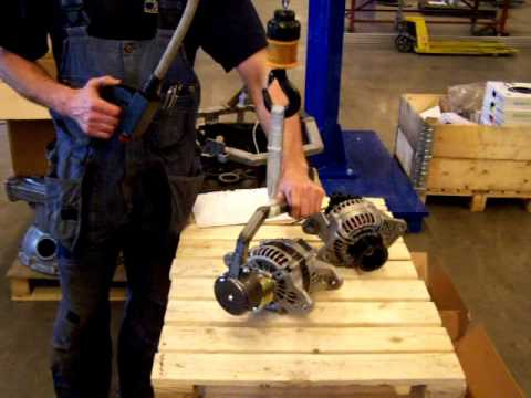Movomech Mechchain Alternator Industrial Manipulator for Lifting & Turning