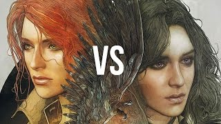 Yen vs Triss. Gamers' love choices in The Witcher 3 [gamepressure.com]