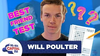 Will Poulter Plays A Best Friend Challenge With His BFF 👬 | FULL INTERVIEW | Capital